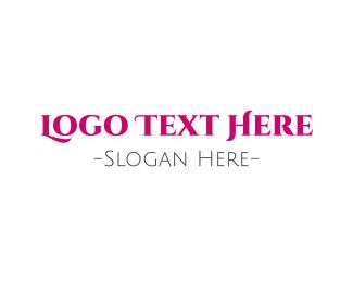 Sophisticated - Fuchsia & Elegant  logo design