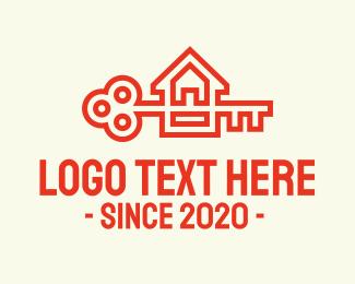 Orange Key House Logo