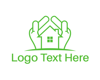 Property - Green Property logo design