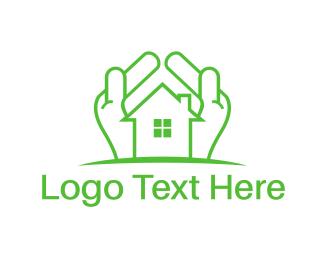 Mortgage - Green Property logo design