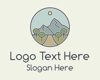 Explorer - Mountain Hill Pathway logo design