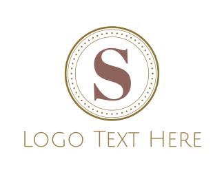 Coin - Letter S Coin logo design