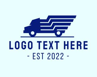 Express - Blue Truck Express logo design