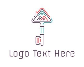 Skyline - Key City logo design