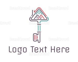 Key - Key City logo design