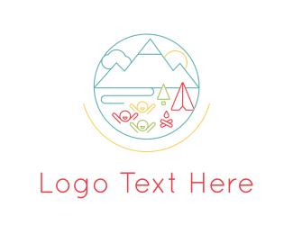 Childhood - Summer Camp logo design