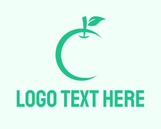 Life - Green Apple logo design