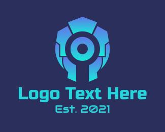 Game App - Gaming Squad Badge logo design