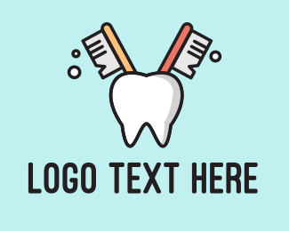 Dental - Dental Tooth Toothbrush logo design
