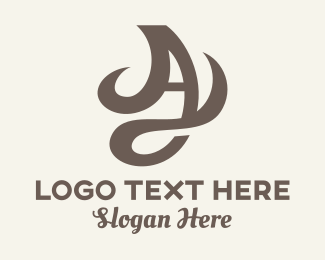 Class - Decorative Letter A  logo design