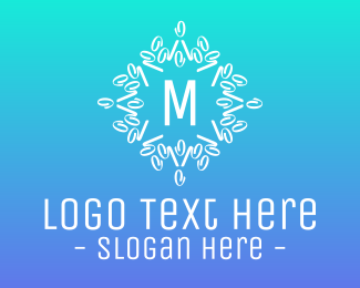 Instagram - Abstract Wreath Lettermark logo design