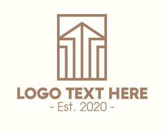 Property Builder - Elegant Real Estate Property logo design