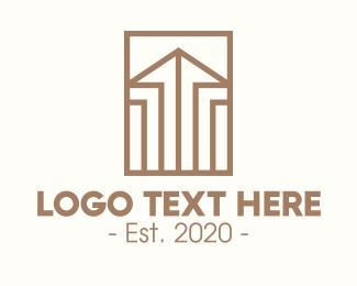 Estate - Elegant Real Estate Property logo design