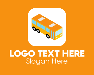 Auto Repair - Bus Mobile Application logo design