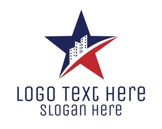 Buildings - American Buildings logo design
