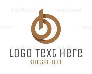 Carpenter - Modern Letter B logo design