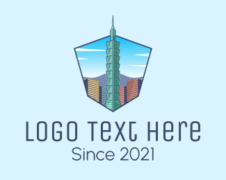 Landmark - Taiwan Building Landmark logo design