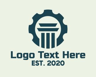Law - Cog Law Firm logo design