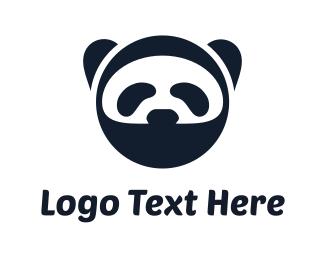 Karate -  Ninja Panda logo design