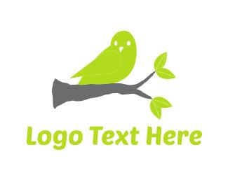 Canary - Green Canary logo design