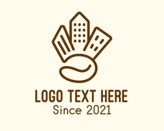 Coffee Shop - Cityscape Coffee Shop logo design