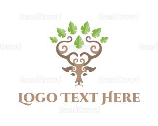 Reindeer - Deer Grove logo design