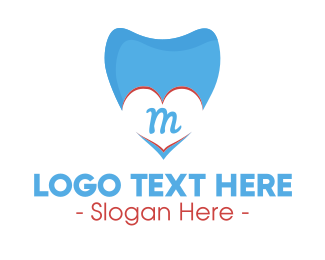 Toothpaste - Dental Clinic Lettermark logo design