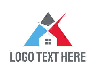 Approval - Triangle Check House logo design
