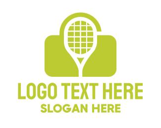 Secret - Green Tennis Lock logo design