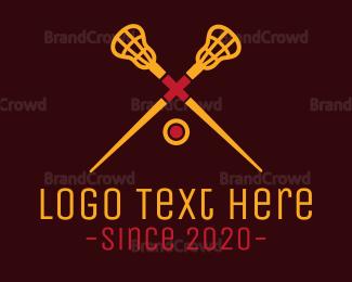 Yellow - Yellow Lacrosse logo design