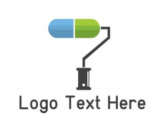 Paint - Medical Paint logo design