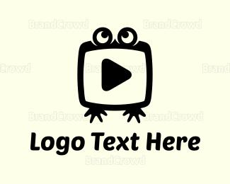 Media - Frog Media logo design