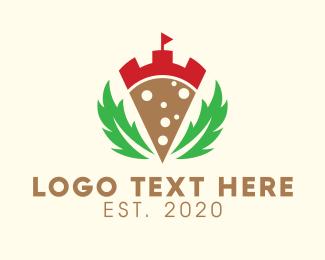 Castle - Laurel Pizza Castle logo design