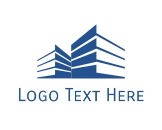 Perspective - Building Shadows logo design
