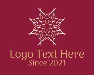 Beauty - Mandala Flower logo design