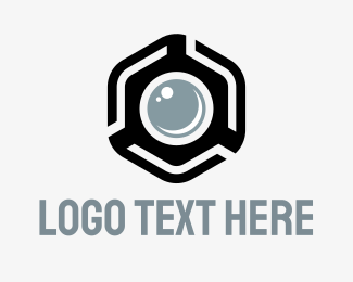 Photo - Hexagon Photo logo design