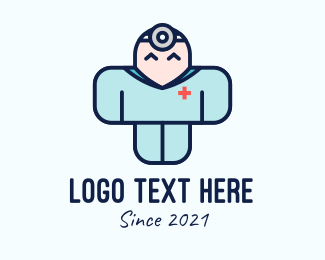 Medical Care - Medical Staff Mascot  logo design
