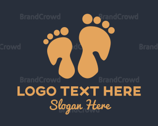 Chiropodist - Foot Massage logo design