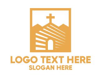 Church - Golden Church Community logo design