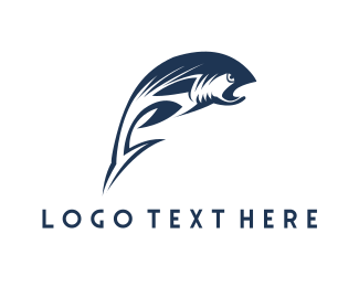 """Wild Fish"" by LogoBrainstorm"