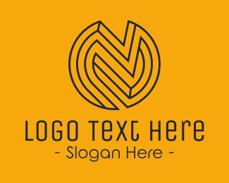 Capital - Modern Letter N logo design