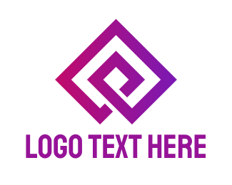 Minimalist Diamond Brand Logo