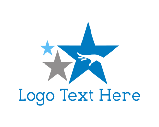 Constellation - Reaching Stars logo design