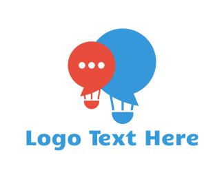 Forum - Speech Balloons logo design