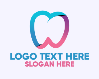 Orthodontist - Healthy Dental Tooth logo design