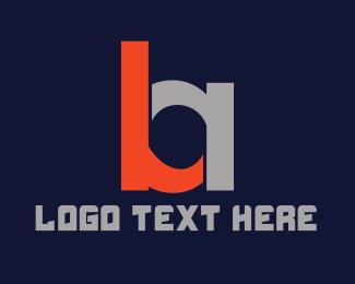 Egames - Modern B & A logo design