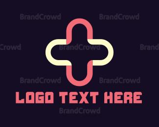 Hospital - Plus & Cross logo design