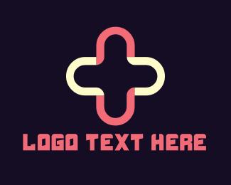 Nurse - Plus & Cross logo design