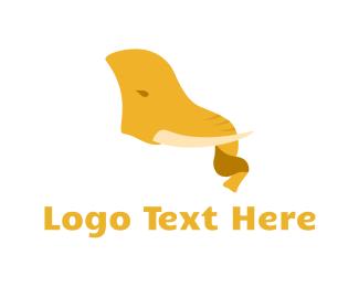 Ivory - Tusk & Trunk logo design