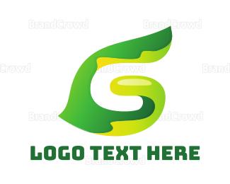 Shape - Vegetable G Shape  logo design